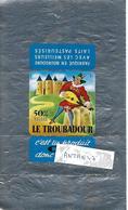 Emballage Beurre Sulfurisé / BOURGOGNE / Le Troubadour - Autres Collections