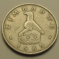1989 - Zimbabwe - 50 CENTS - KM 5 - Zimbabwe