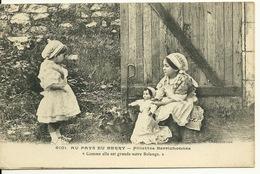 18 - AU PAYS DU BERRY / FILLETTES BERRICHONNES - LA POUPEE - Zonder Classificatie