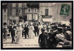 CPA ANCIENNE FRANCE- LA MOTHE-SAINT-HÉRAY (79)- MARIAGE DES ROSIERES  EN TRES GROS PLAN- BELLE ANIMATION - La Mothe Saint Heray