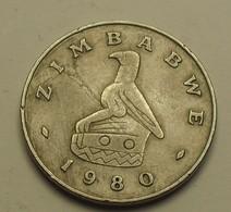 1980 - Zimbabwe - 20 CENTS - KM 4 - Zimbabwe