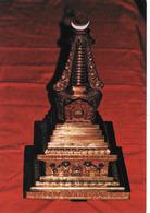Mongolia, Ulan Bator, Stupa, Brass, 19th Century, Fine Arts Museum, Mint, Inutilisé - Mongolie