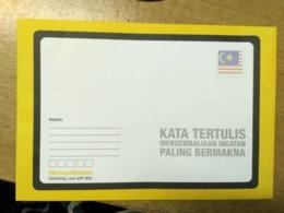 Malaysia Independence Day 2018 Flag Merdeka Unity National Day Envelope Official Flag DIGI - Malaysia (1964-...)
