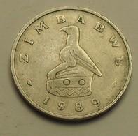 1989 - Zimbabwe - 10 CENTS - KM 3 - Zimbabwe