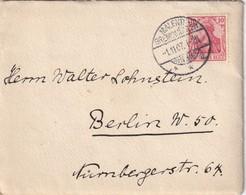 ALLEMAGNE 1907 LETTRE DE MALENTE- GREMSMÜHLEN - Cartas