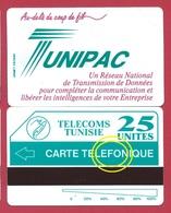 TUNISIE TUNIPAC Erreur TELEFONIQUE Variété F Au Lieu De PH MINT URMET NEUVE - Tunisia