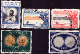 Congo 0324/28 (o)  Sujets Divers - Congo Belge