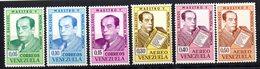 Serie Nº  699/701 + A-810/2   Venezuela - Venezuela