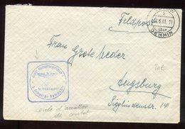 Allemagne - Enveloppe En Feldpost ( école D 'aviation De Combat ) De Tutow En 1941 - N307 - Germany