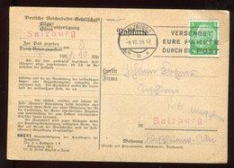 Allemagne - Carte Commerciale De Salzburg En 1938 - N308 - Briefe U. Dokumente