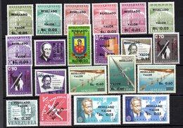 Serie Nº  707/17 + A-814/57   Venezuela - Venezuela