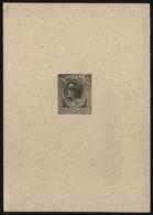 Monaco 1949 Yvert Entier Postaux 25 - Postal Stationery Louis II Proof épreuve Dark-olive-green Typo - Sonstige