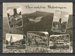 Deutschland DDR 1966 Thüringen Sent 1990 With 2 Stamps - Allemagne