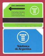 First 200 Unidades Telefonica De Argentina Logo 5000 Ex - 1991 - URMET Neuve Mint - Argentine
