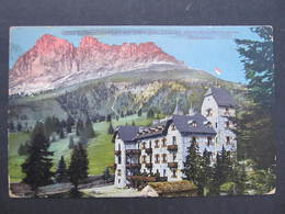 AK Hotel Latemar Karerpass Rosengarten Dolomiten Ca.1915 //  D*35498 - Italien