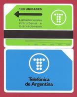 First 100 Unidades Telefonica De Argentina Logo 5000 Ex - 1991 - URMET Neuve Mint - Argentine