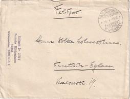 TURQUIE 1918 LETTRE  EN FELDPOST POUR DEUTSCH-EYLAU - Occupation 1914-18