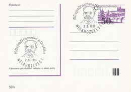 I0299 - Tschechoslowakei (1991) Nelahozeves 1: 150 J. Der Geburt Von Antonin Dvorak (1841-1904), Tschechischer Komponist - Famous People
