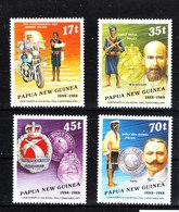 Papua N, Guinea  -  1988.  Corpo Di Polizia. Early Papua Police. Complete MNH Set - Militaria