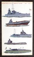 Soldatini Di Carta Marca Stella N° 45 - Navi - Anni '30 - Altre Collezioni