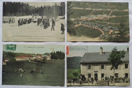 LOT DE QUATRE CARTES POSTALES: Bois D'Amont-Chaux Des Crotenay-Lajoux - France