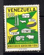 Sello  Nº   876    Venezuela - Venezuela