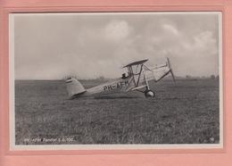 OLD POSTCARD    AVIATION - PH-AFM - PANDER E.G. 100 - 1919-1938: Between Wars