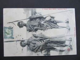 AK AFRIKA Guerriers Somalis 1906 Used!!  //  D*35501 - Somalie
