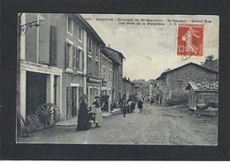 CPA Isère 38 Saint Sauveur Métier Charron Circulé - France