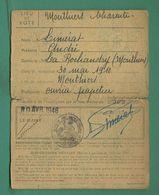 16 Mouthiers La Rochandry Carte D' électeur Du 30 Avril 1946 Cachet De La Mairie - Cartes