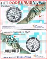 NEDERLAND - COINCARD 5 € 2017 UNC - HET RODE KRUIS VIJFJE - Pays-Bas