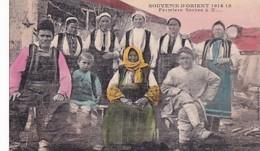 SOUVENIR D ORIENT 1914  18    FERMIERS SERBES A X...    Secteur 517 - Serbia