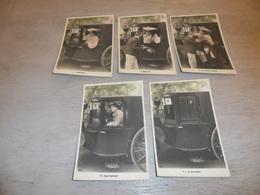 Couple ( 31 )   Koppel   Serie Van 5 Postkaarten - Serie De 5 Cartes Postales - Couples