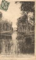 Cpa St Hilaire La Palud Chateau De Sasais Et Le Lac - France