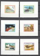 Liberia 1974,6 LUXE Blocks,centenario De La UPU 1874-1974,Union Postale Universelle,MNH/Postfris(L3336) - UPU (Universal Postal Union)
