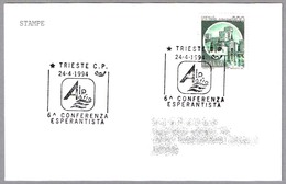 6ª CONFERENCIA DE ESPERANTO. Trieste 1994 - Esperanto
