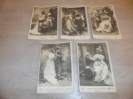 Couple ( 35 )   Koppel   Serie Van 5 Postkaarten - Serie De 5 Cartes Postales - Couples