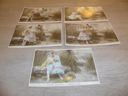 Couple ( 38 )   Koppel   Serie Van 5 Postkaarten - Serie De 5 Cartes Postales - Couples