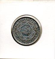 Maroc. 5 Francs 1370 - Maroc