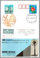 MOLINO DE VIENTO - WINDMILL. Ashikita, Kumamoto, Japon, 1992 - Molinos