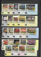 ST VINCENT ET GRENADINES - COUPE DU MONDE DE FOOTBALL 1994 USA  - YVERT N° 2096/2119 ** MNH - SERIE COMPLETE 24 VALEURS - St.Vincent & Grenadines