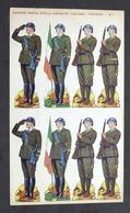 Soldatini Di Carta Marca Stella N° 1 - Esercito Italiano - Fanteria - Anni '30 - Altre Collezioni