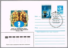 Campeonato Del Mundo Masculino De AJEDREZ - World Chapionship Chess. Moscu 1984 - Ajedrez