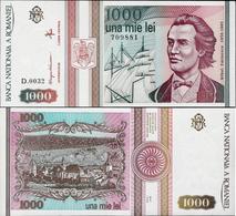 Romania 1993 - 1000 Lei - Pick 102 UNC - Roumanie