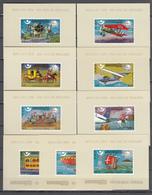 Khmer Cambodia 1975,9 Blocks,,centenario De La UPU 1874-1974,Union Postale Universelle,MNH/Postfris(L3339) - UPU (Union Postale Universelle)