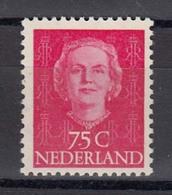 Niederland 1951 - Freimarke: Koenigin Juliana, Mi-Nr. 582, MNH** - Nuevos