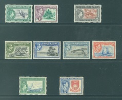 GILBERT ELLICE -  MLH/* - 1939-1955 - GEORGE VI - Yv 38-39 41-43 46-49 -  Lot 18267 - SMALL BROWN TRACE !!! - Îles Gilbert Et Ellice (...-1979)
