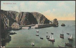 The Harbour, Sark, 1914 - BRLD Postcard - Sark