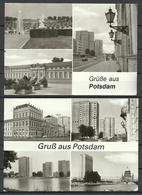 Deutschland DDR 1987 & 1989 POTSDAM - 2 Post Cards - Sent 1996 With Stamps - Potsdam