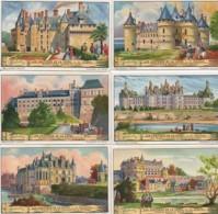 CHROMOS LIEBIG Série 1 à 6 : Les Châteaux De La Loire - Liebig